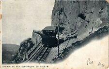 CPA  Chemin de Fer Électrique du Saléve  (247873)