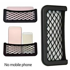 Black Auto Car Storage Mesh Resilient String Pouch Holder Pocket Organizer large
