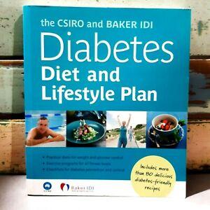 CSIRO & Baker IDI Diabetes Diet & Lifestyle Plan 80+ Recipes 6 Week Menu Plan