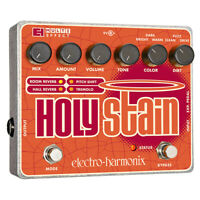 Electro-Harmonix Holy Stain Distortion Reverb Pitch Tremolo Effects Guitar Pedal