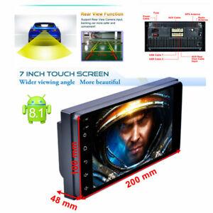 Android 8.1 Car Radio Multimedia Universal Navigator Head Unit 1+16G Quad-Core