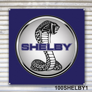 Shelby Banner Sign Garage