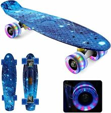 New listing Skateboards 22'' Complete Skateboard Deck Mini Cruiser Penny Style Board Youths