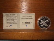 PIECE 10 FRANCS ARGENT STERLING MACCHI CASTOLDI MC 72 REP. DEMOCRATIQUE CONGO