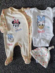 Baby Girls Newborn Disney Minnie Mouse/daisy Duck Newborn Excellent Condition