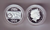 2004 Silver Proof $1 Coin Dollar Decade 1984 - 1994 out Masterpieces Set