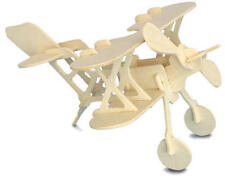 BI piano 3D IN LEGNO Modellazione KIT Modello Puzzle Aereo