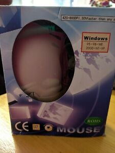 420-800 DPI Mouse, Unbranded, boxed