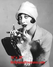 "Joan Crawford~Hair Salon~Salon Decor~Photo~Lipstick~Poster~16"" x 20"""