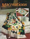 RARE Macreations Macrame Rug  Wall Art Patterns Lee Originals Craft Book L715