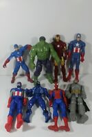 Lot of 8 Action Figures Marvel/DC 10-12 inch (5)