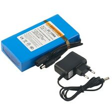 Super Rechargeable Portable Battery DC 12V 9800mAh DC1298A With Plug