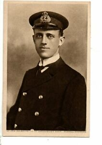 Military Naval Postcard - Lt. Com. Holbrook, Dardanelles Fame.