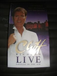 Cliff Richard Live In The Castle VHS Tape Brand New
