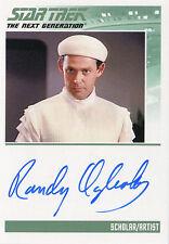 Star Trek TNG Portfolio Prints Series 1 - Randy Oglesby as Scholar Autograph