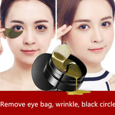 60x Black Pearl Gold Hydrogel Eye Patch Eye Mask Treatment Dark Circle Skin Care