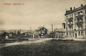 PC NORWAY, KRISTIANIA, MAJERSTUEN ST, Vintage Postcard (b24991)