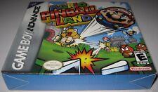 Mario Pinball Land (Nintendo Game Boy Advance, 2004)..Brand NEW!!