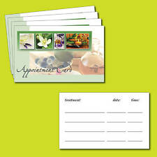 Beauty Spa, Salon, Treatment, Massage-Aromatherapy-Appointment cards Pack of 100
