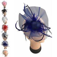 Finecy In - Ladies&Women Clip Flower Wedding Races Occasion Hat Fascinator