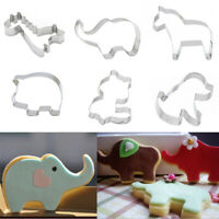 1PC Cookie Cutter Animals Biscuits Mold Giraffe Horse Pig DIY Baking Cake Mould