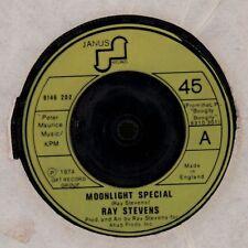 """Ray Stevens(7"""" Vinyl)Moonlight Special/ Just So Proud-Janus-6146 202-UK-VG/VG"""