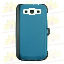 For Samsung Galaxy S3 case cover(Belt Clip Holster Fits Otterbox Defender)Cyn Wt