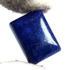 Lapis Lazuli Healing Gemstone 11 Ct+ Natural Emerald Cut Gold Pyrite Flakes