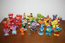 Sesame Street Characters Pvc, Vinyl, Cake Toppers, Ooak, x 30+, Elmo, Grover