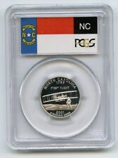 2001 S 25C Silver North Carolina Quarter PCGS PR69DCAM