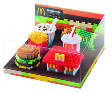 Brand New McDonald's Food Icons x Nanoblock Set of 6 with Display Box