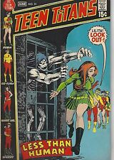 Teen Titans No. 33 DC Comics Less Than Human Robin wonder Girl Kid Flash Speedy