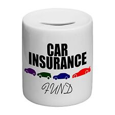 Car Insurance Fund Novelty Ceramic Money Box