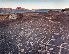 Eastern Sierra Ancient Petroglyph 11x14 fine art photo