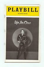 VINTAGE PLAYBILL UP IN ONE PETER ALLEN MAY 23,1979 OPENING NIGHT
