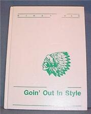 High School Yearbook 1990 Kewaskum Wis Chieftain Annual