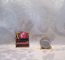 USA TEAM HANDBALL U.S. Olympic Festival Rainbow Foods 1990 Hat Lapel Pin Badge