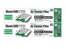 2 Replacement Filters For Aprilaire 401, SpaceGard 2400