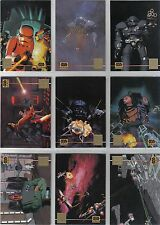 STAR WARS GALAXY SERIES 3 SET OF 12 LUCASART CHASE CARDS