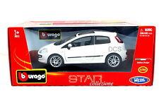 Bburago Star  Fiat Punto Evo White 1/24 Diecast cars