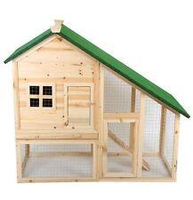 Conigliera Pollaio recinto  gabbia in legno x roditori x conigli
