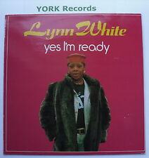 Lynn White-Oui je suis prêt-excellent état LP Disques naylo Way 269505 1
