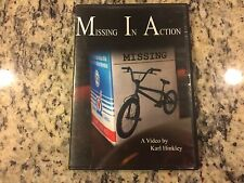 MISSING IN ACTION VERY RARE LIKE NEW NO SCRATCHES DVD 2005 BMX TRICKS TOM HAUGEN