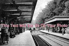 ST 51 - Newcastle Railway Station, Staffordshire - 6x4 Photo