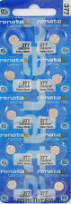 15 pc 377 Renata Watch Batteries SR626SW FREE SHIP 0% MERCURY