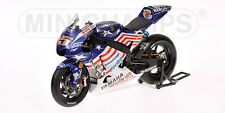 1:12 Minichamps Yamaha YZR-M1 Colin Edwards Laguna Seca 2008 MotoGP RARE NEW