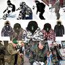 SouthPlay Camouflage Mens Waterproof Ski-Snowboard Total Militarylook Jacket