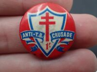 Anti TB Crusade Badge Pin (Bag 3)