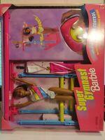 BNIB 1999 Super Gymnast Barbie African American Wired remote Barbie #23106