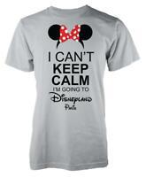 Minnie I Can't Keep Calm I'm Going To Disneyland Paris Kids T Shirt
